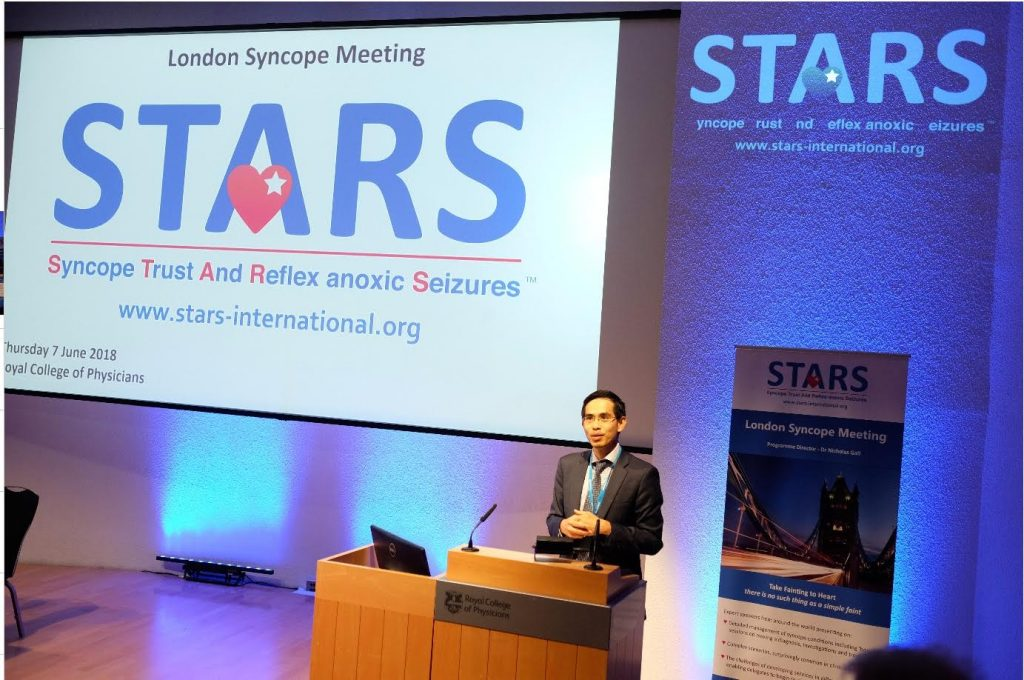 STARS Syncope Day held at the Royal College of Physicians in Regent's Park, London