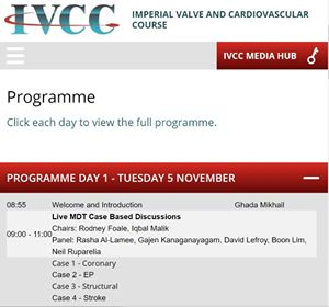 Cardiovascular Course held in central London